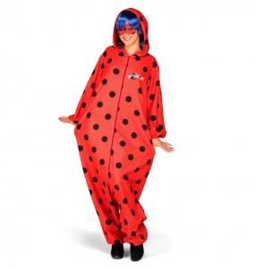 Disfraz de Ladybug Kigurumi para mujer