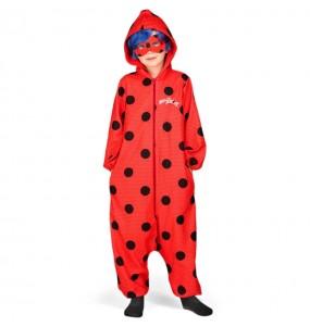 Disfraz de Ladybug Kigurumi para niña