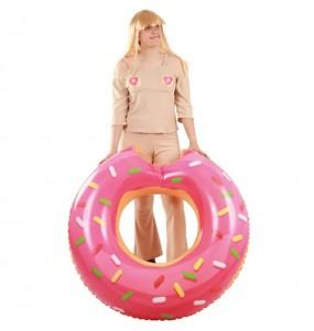 Disfraz de Lapili comeme el donut adulto