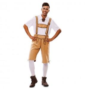 Disfraz de Lederhose Oktoberfest para hombre