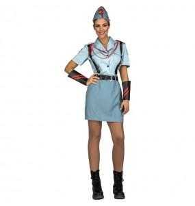 Disfraz de Legionaria Militar para mujer