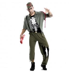 Disfraz de Legionario Zombie para hombre