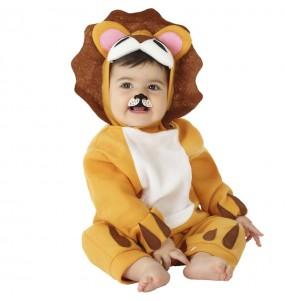 Disfraz de León feroz para bebé