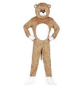 Disfraz de Leopardo Cabezón para adulto