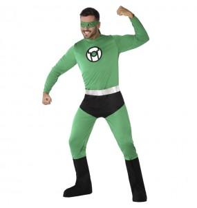 Disfraz de Linterna Verde para adulto
