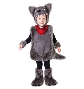 Disfraz de Lobo Peluche para niño