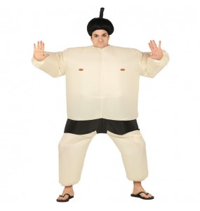 Disfraz de Luchador de Sumo Hinchable para adulto