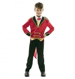 Disfraz de Maestro de Ceremonias Circo para niño