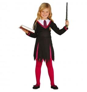 Disfraz de Maga estudiante para niña