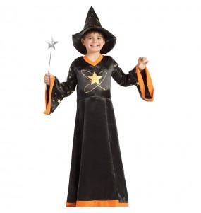 Disfraz de Mago fantasía para niño