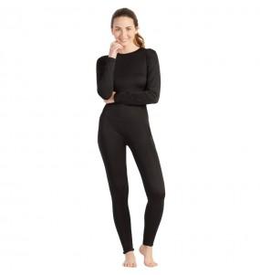 Disfraz de Maillot negro spandex para mujer