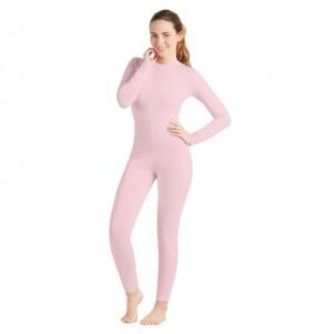 Disfraz de Maillot rosa spandex para mujer