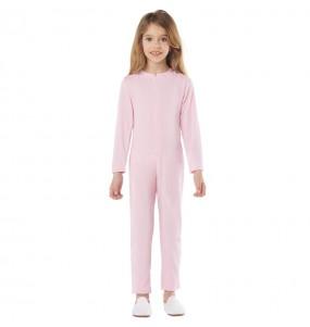 Disfraz de Maillot rosa spandex para niño