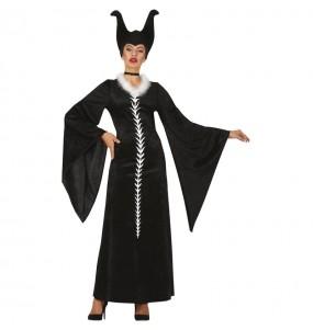 Disfraz de Maléfica Maestra del Mal para mujer
