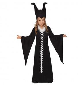 Disfraz de Maléfica Maestra del Mal para niña