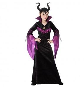 Disfraz de Maléfica Oscura para niña