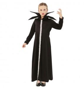 Disfraz de Maléfica siniestra para niña