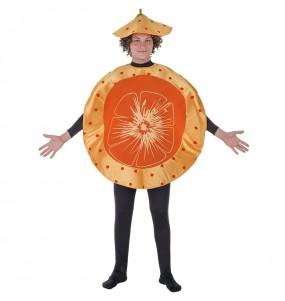 Disfraz de Mandarina para adulto