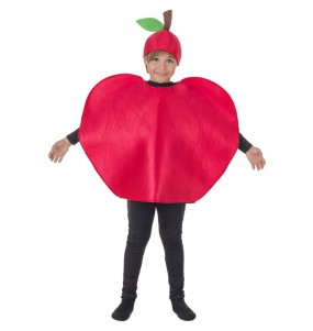 Disfraz de Manzana Roja para niños
