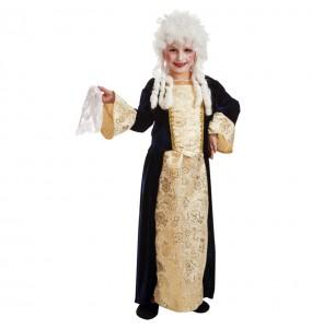 Disfraz de Maria Antonieta para niña