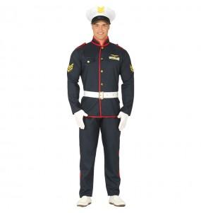 Disfraz de Marine Americano para hombre