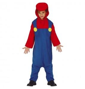 Disfraz de Mario Bros Kigurumi para niño