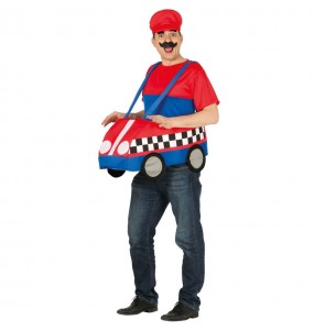 Disfraz de Mario Kart para adulto