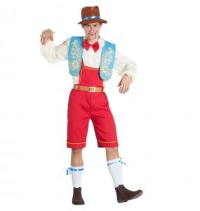 Disfraz de Pinocho Marioneta para hombre