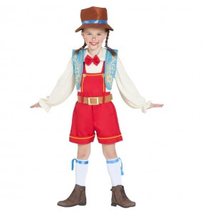 Disfraz de Pinocho Marioneta para niña