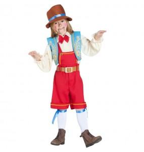 Disfraz de Marioneta Pinocho para niño