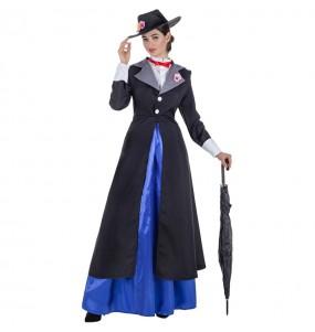 Disfraz de Mary Poppins para mujer
