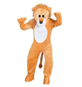 Disfraz de Mascota León para adulto