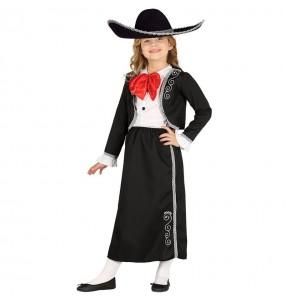 Disfraz de Mejicana Jalisco para niña