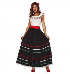 Disfraz de Mexicana Yaneli para mujer