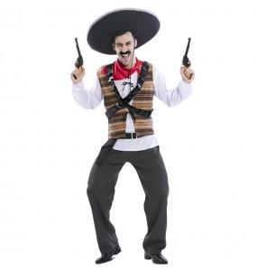 Disfraz de Mexicano Pistolero para hombre