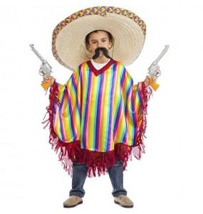 Disfraz de Mexicano Tijuana para niño