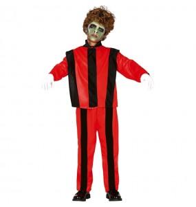 Disfraz de Michael Jackson Thriller para niño
