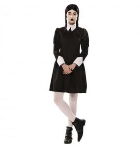 Disfraz de Miércoles Addams para mujer