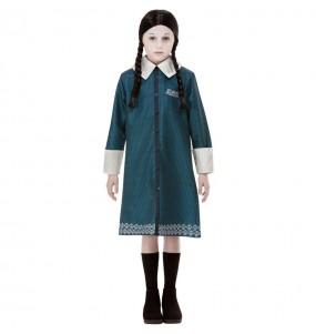 Disfraz de Miércoles Familia Addams para niña