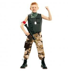 Disfraz de Soldado Fuerzas Especiales para niño