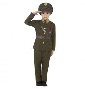 Disfraz de Militar Oficial para niño