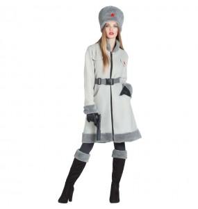 Disfraz de Rusa Soviética Militar para mujer