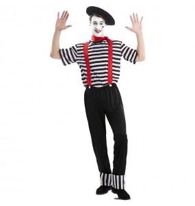 Disfraz de Mimo Circo para hombre