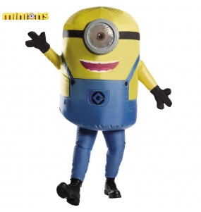 Disfraz de Minion Stuart hinchable para adulto