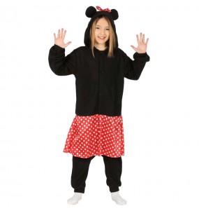 Disfraz de Minnie Mouse Kigurumi para niña