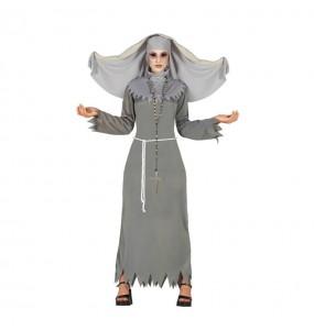 Disfraz de Monja Diabólica para mujer