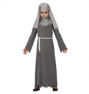 Disfraz de Monja Diabólica para niña