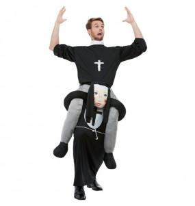Disfraz de Monja a hombros para adulto