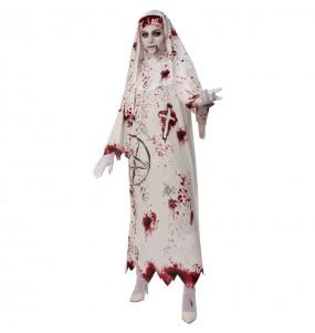 Disfraz de Monja Sangrienta para mujer