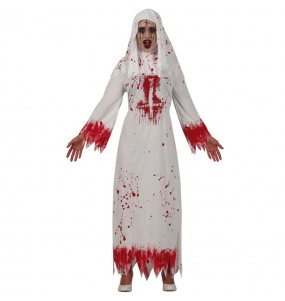 Disfraz de Monja Satánica para mujer